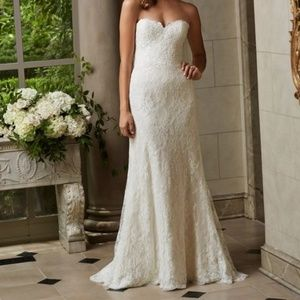 Wtoo Michelle Sweetheart Lace Wedding Gown